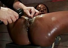 black women in bondage